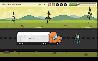Zombies And Trucking And a Video Game? Oh, My!